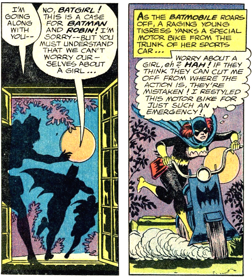 """Detective Comics"" #359, Batgirl's first appearance"